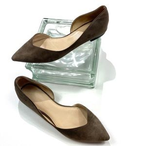 Marc Fisher Amra Taupe flats